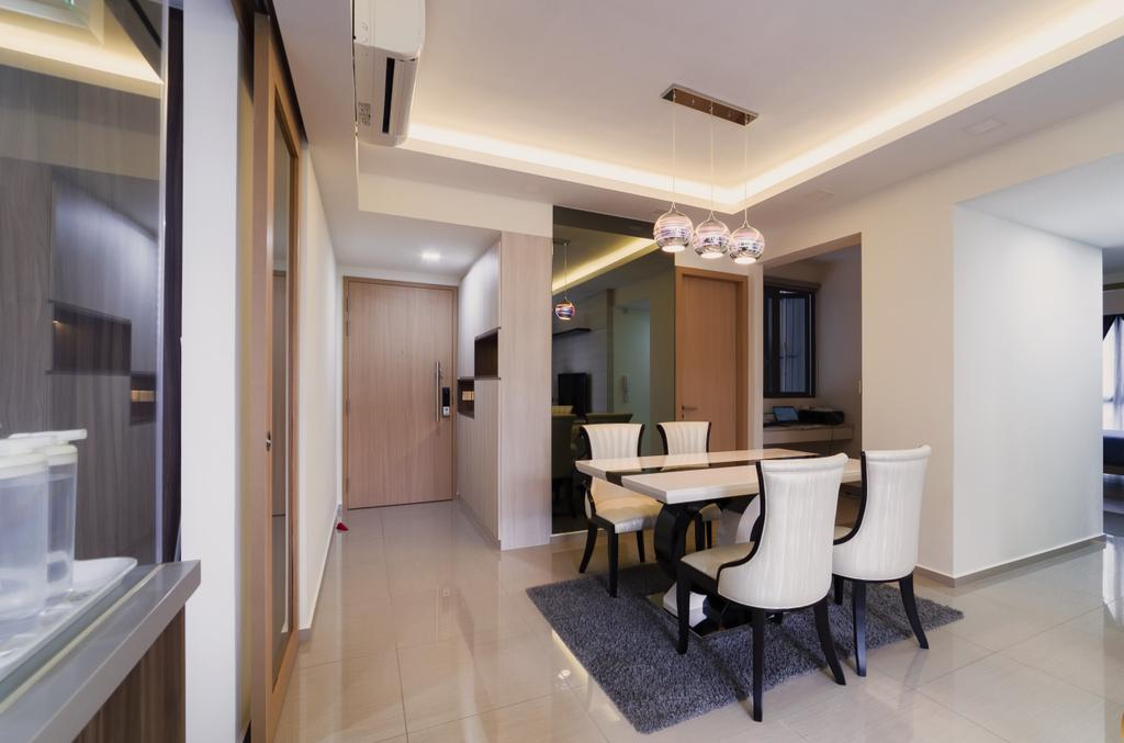 Contemporary, Condo, Dining Room, Parc Life, Interior Designer, SHE Interior