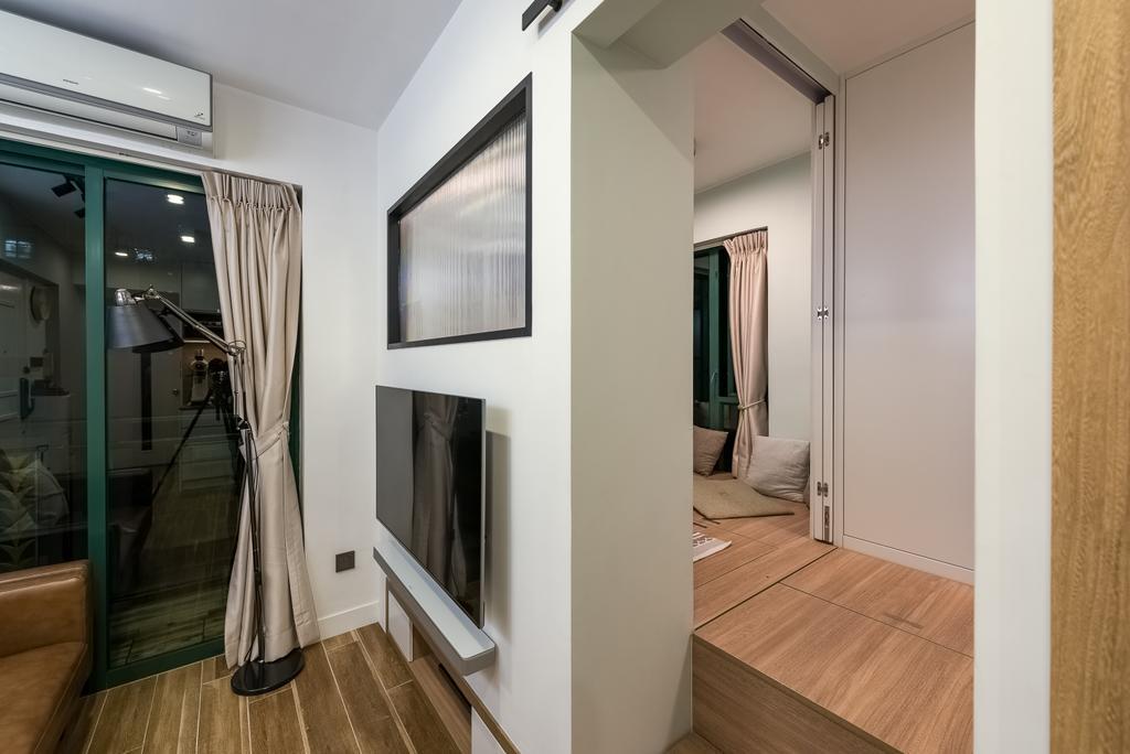 私家樓, 客廳, 美意居, 室內設計師, Deco Farmer Studio