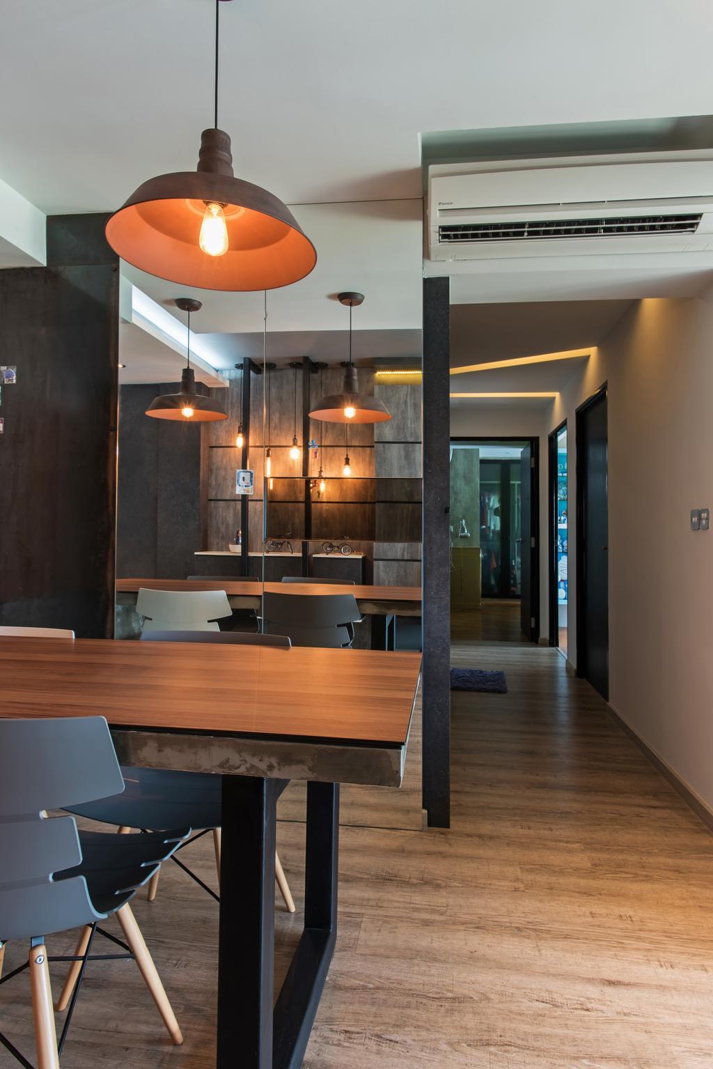 Contemporary, HDB, Dining Room, Yishun Ring Road, Interior Designer, Diva's Interior Design