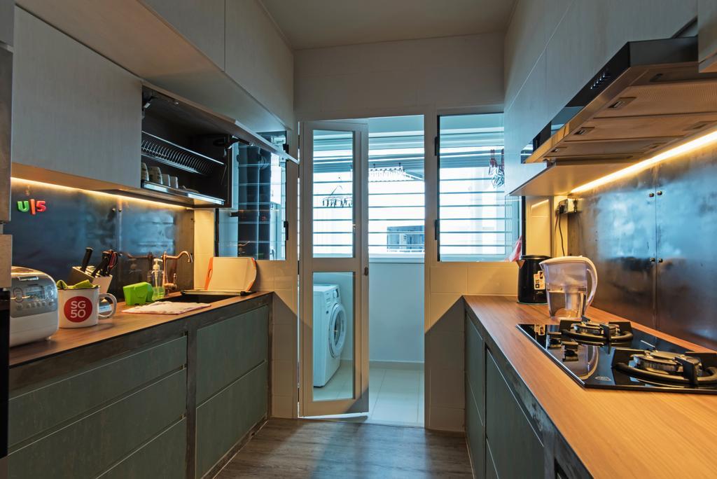Contemporary, HDB, Kitchen, Yishun Ring Road, Interior Designer, Diva's Interior Design