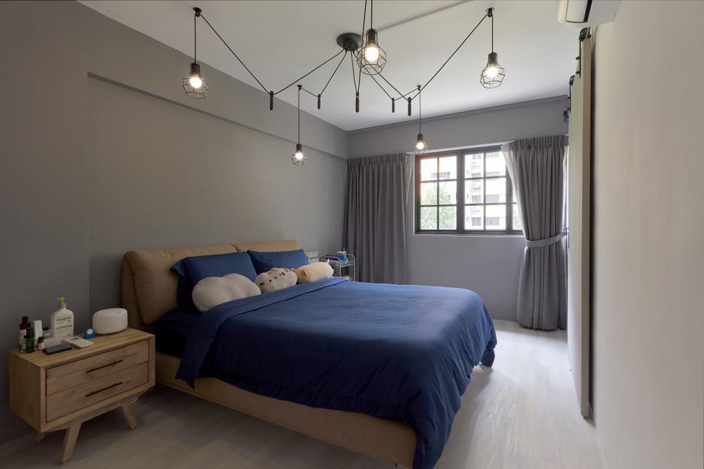 Modern, HDB, Bedroom, Clementi West Street 2, Interior Designer, J Design & Build