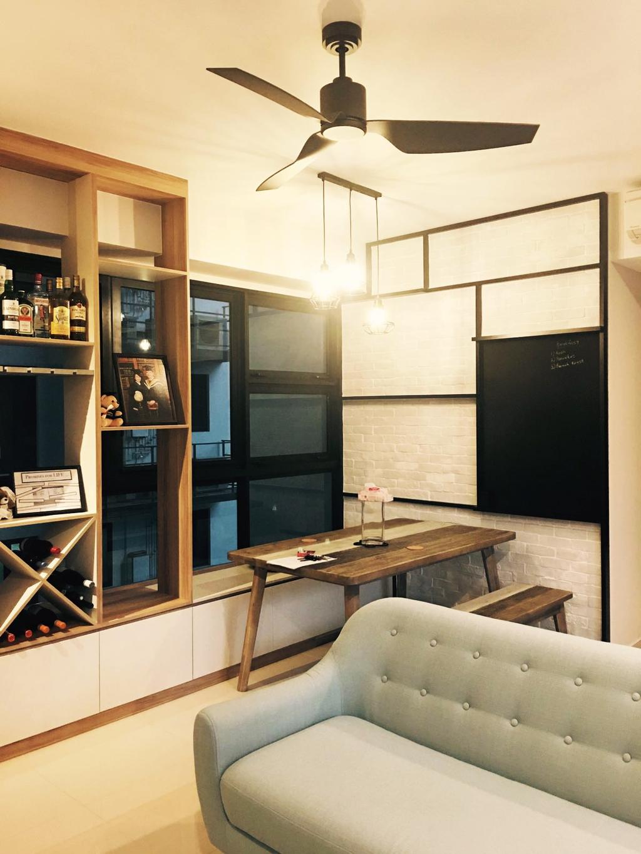 Contemporary, HDB, Living Room, Lush Acres, Interior Designer, Diva's Interior Design