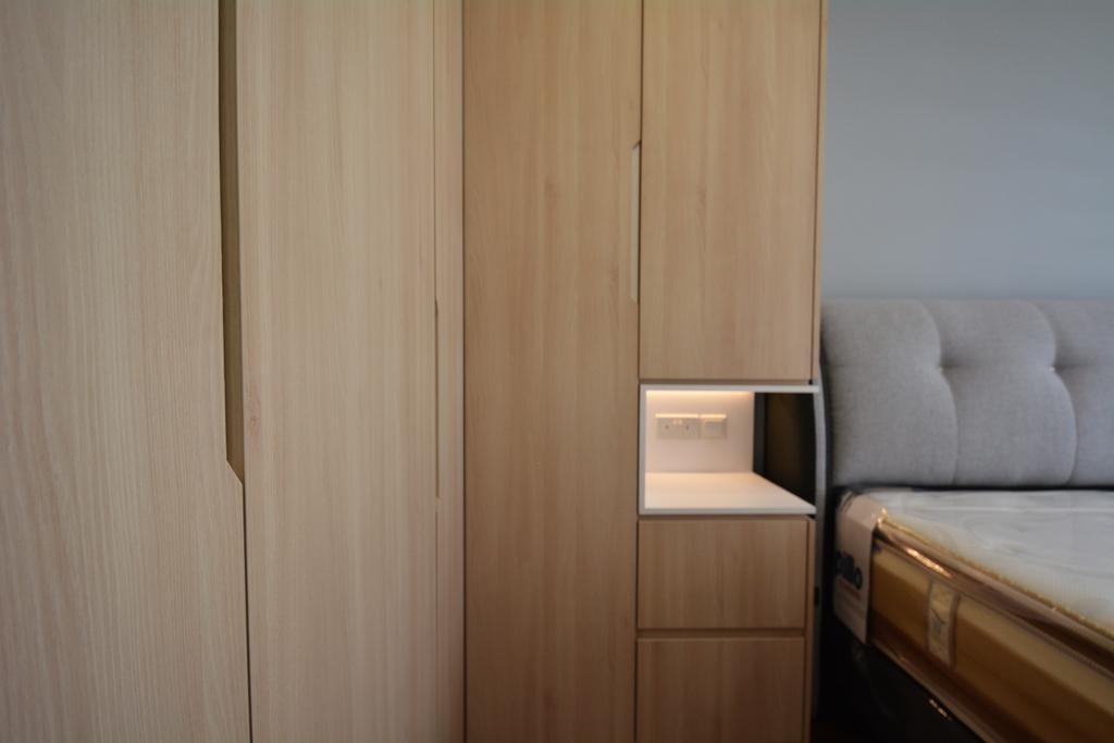 Contemporary, HDB, Bedroom, Sumang Walk, Interior Designer, Diva's Interior Design