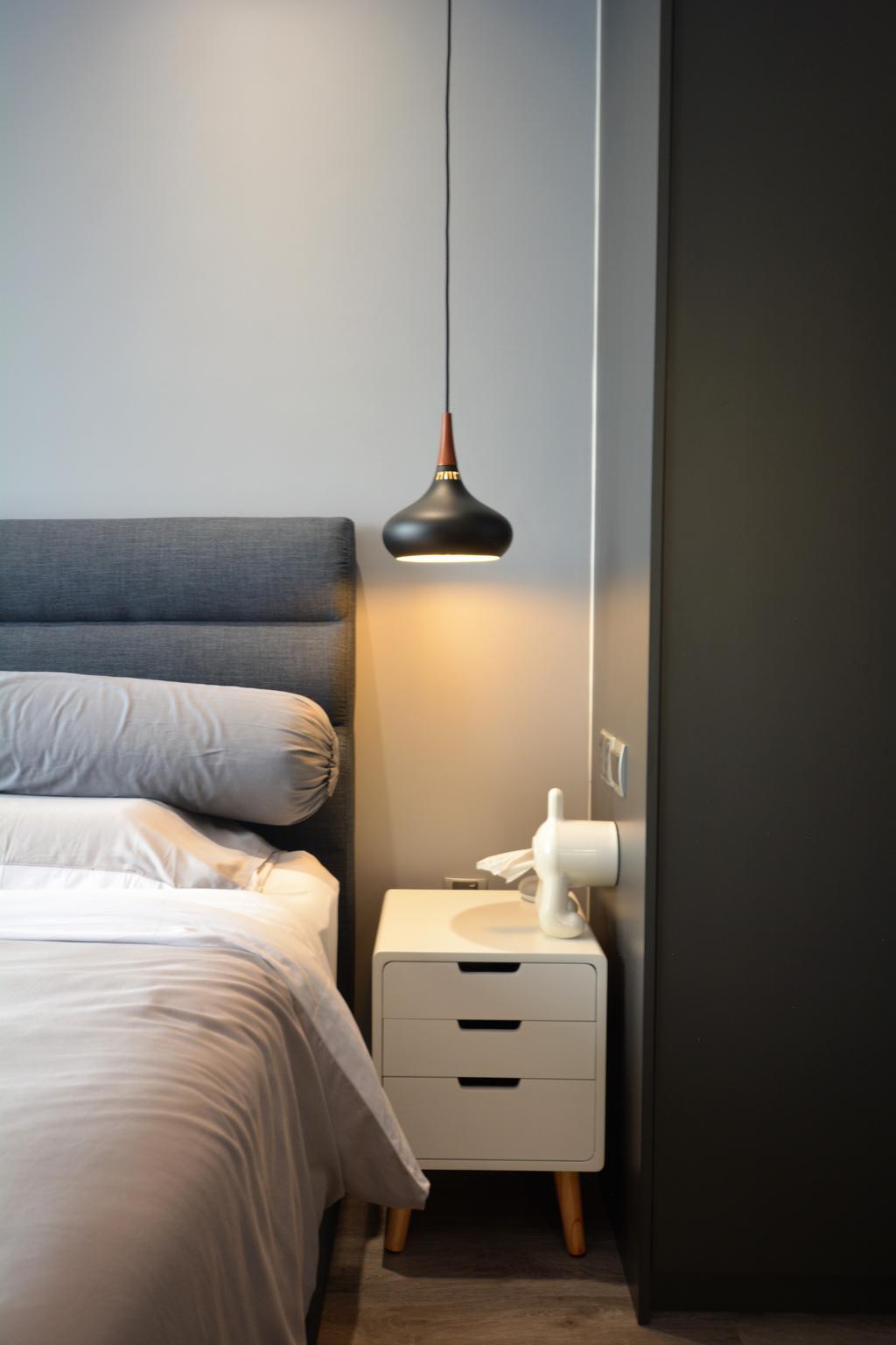 Contemporary, Condo, Bedroom, La Fiesta, Interior Designer, Diva's Interior Design