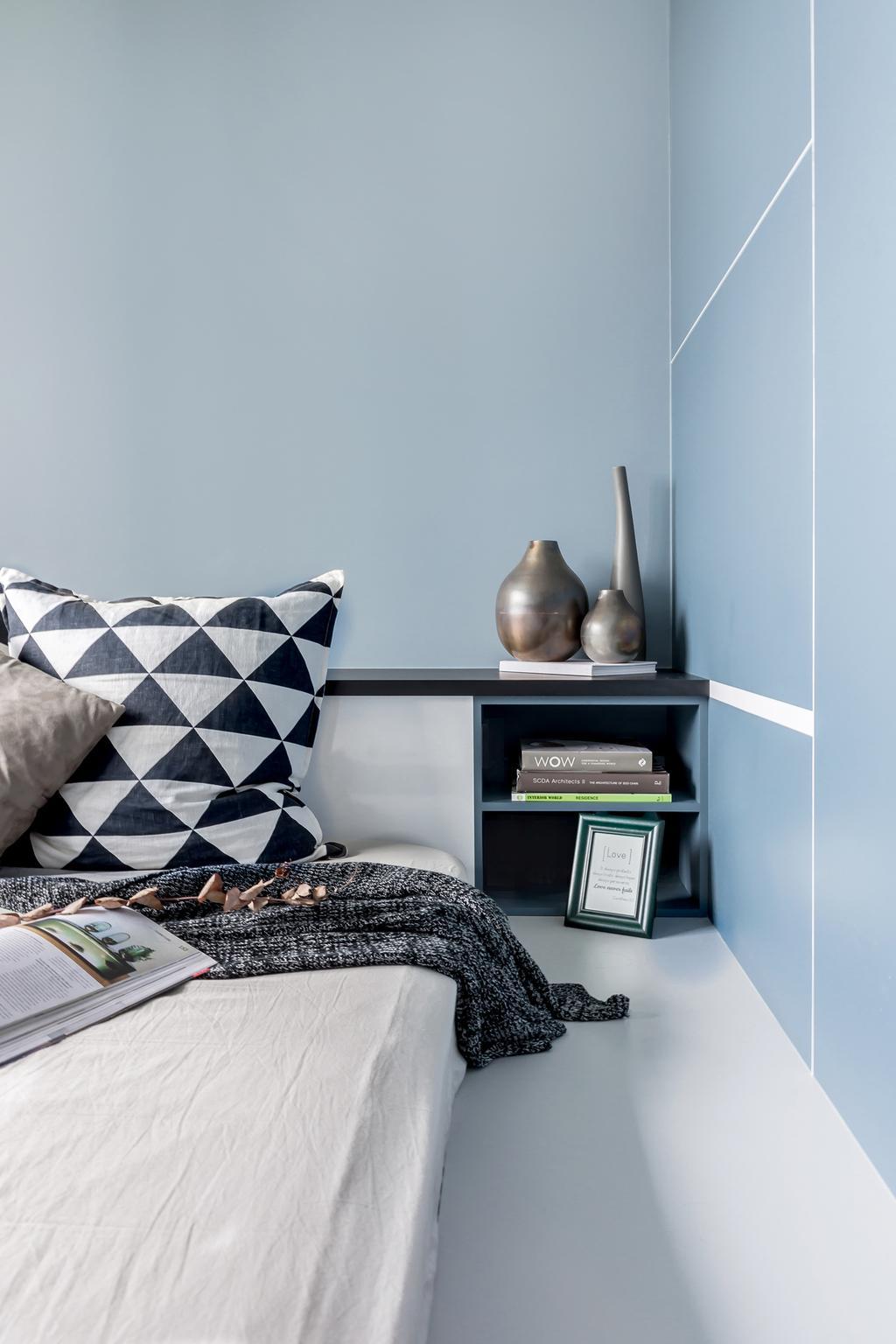 Industrial, HDB, Bedroom, Fernvale Link, Interior Designer, DISTINCTidENTITY