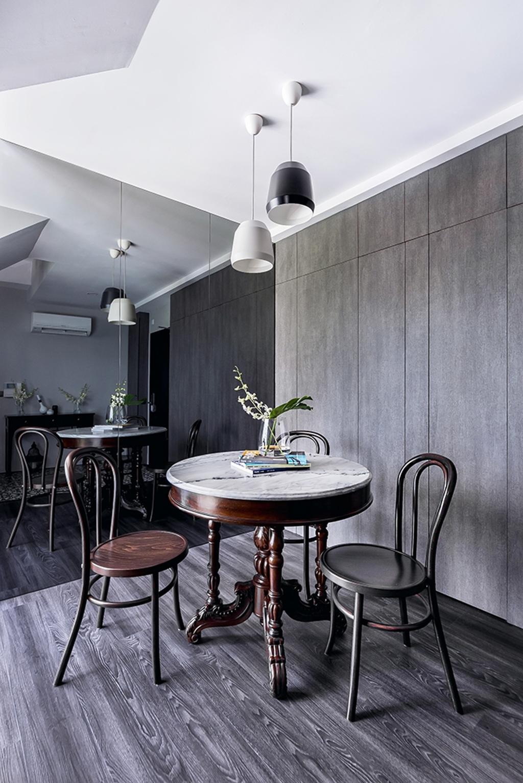 Modern, Condo, Dining Room, Mountbatten Suites, Interior Designer, DISTINCTidENTITY