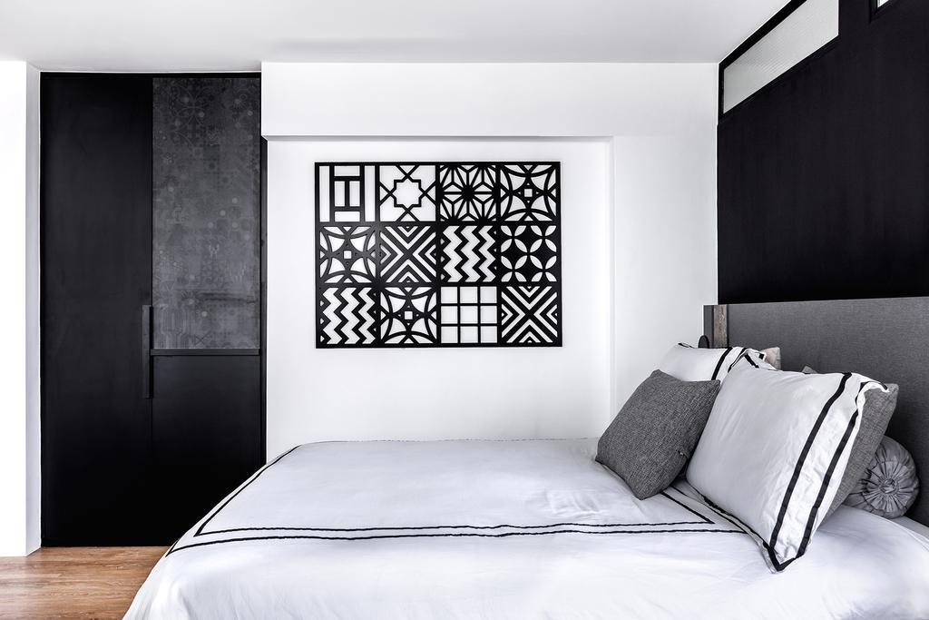 Contemporary, Condo, Bedroom, Tanjong Rhu, Interior Designer, DISTINCTidENTITY, Modern