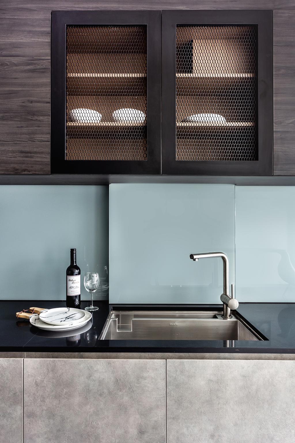 Contemporary, Condo, Kitchen, Tanjong Rhu, Interior Designer, DISTINCTidENTITY, Modern