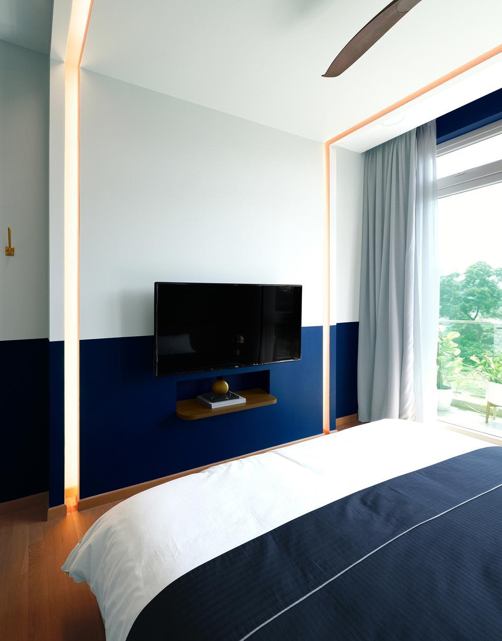 Contemporary, Condo, Bedroom, Faber Walk, Interior Designer, DISTINCTidENTITY, Modern