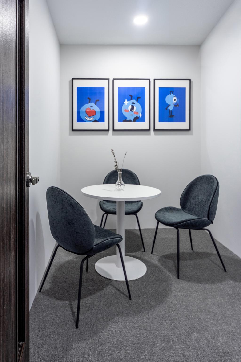 Shenton Way, Commercial, Interior Designer, DISTINCTidENTITY, Modern