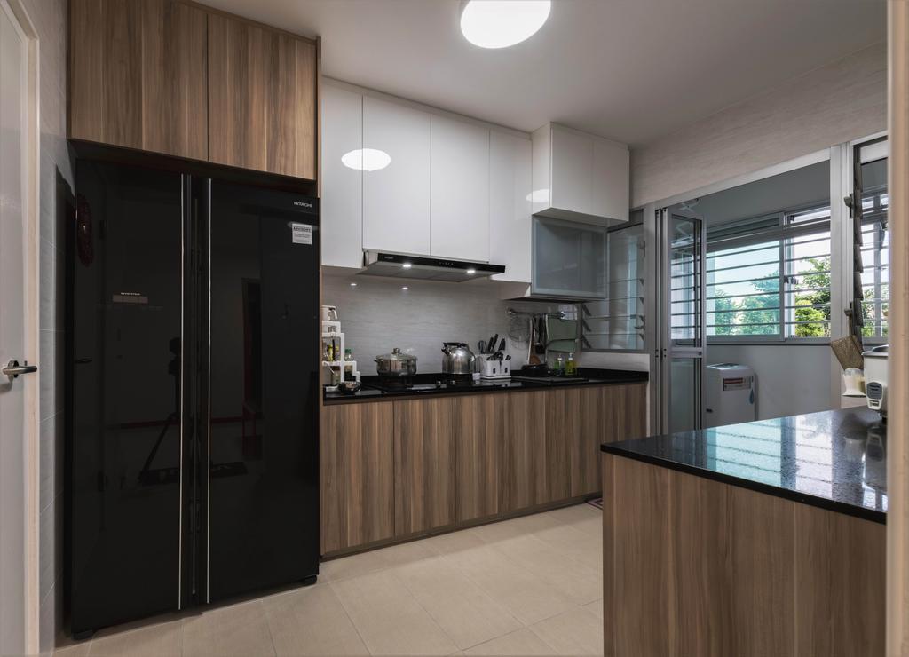 Contemporary, HDB, Kitchen, Bukit Batok West Avenue 8, Interior Designer, SHE Interior