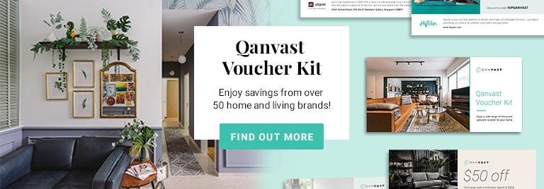 Qanvast Voucher Kit