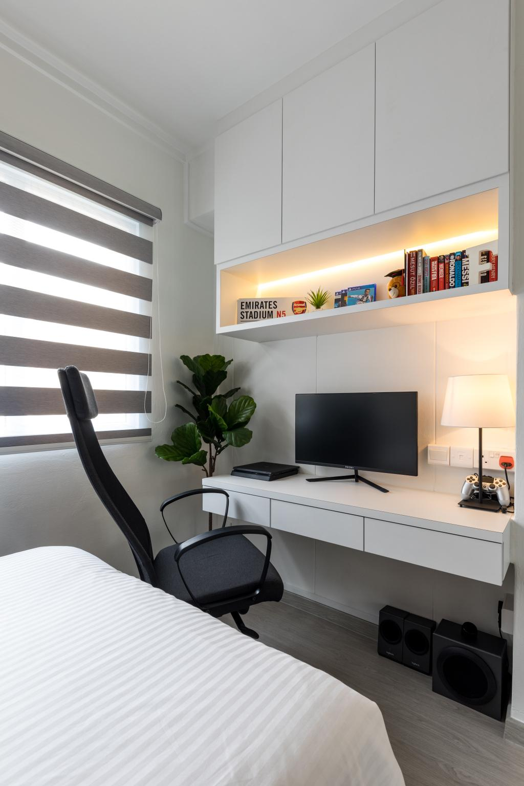 Contemporary, HDB, Woodlands Street 82, Interior Designer, AgcDesign, Modern