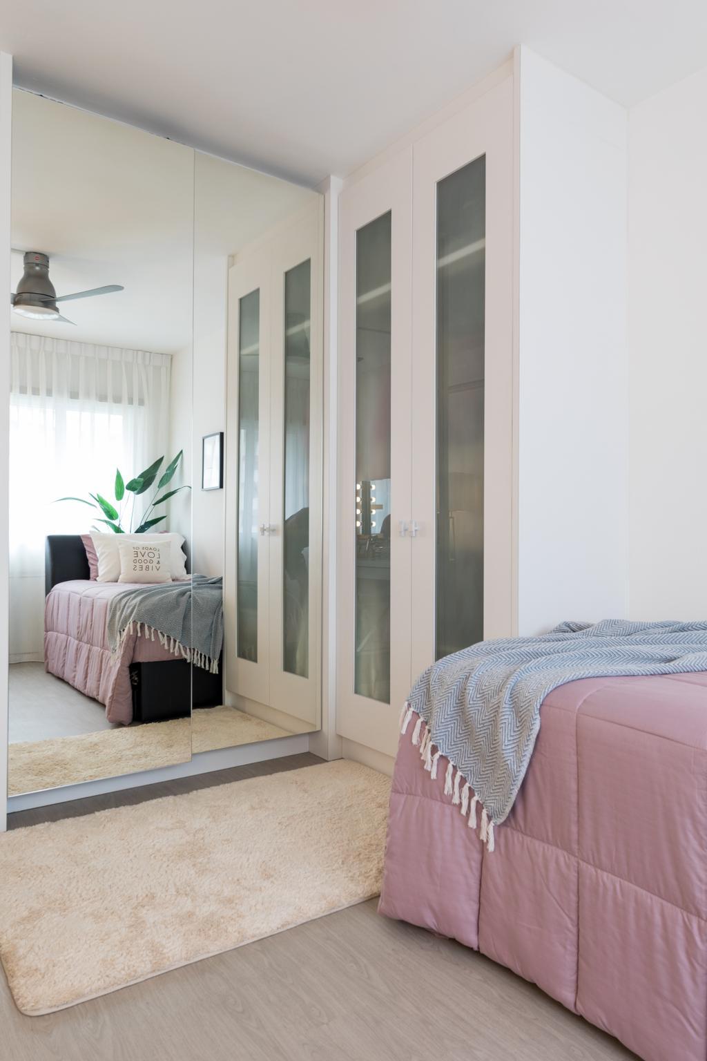 Contemporary, HDB, Bedroom, Woodlands Street 82, Interior Designer, AgcDesign, Modern