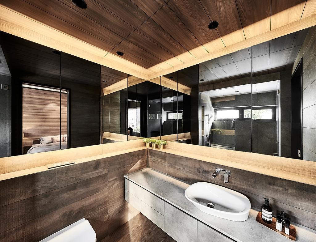 Contemporary, Landed, Bathroom, Highgate Crescent, Interior Designer, akiHAUS