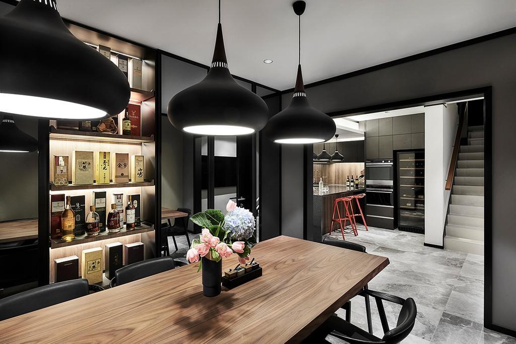 Contemporary, Landed, Dining Room, Highgate Crescent, Interior Designer, akiHAUS