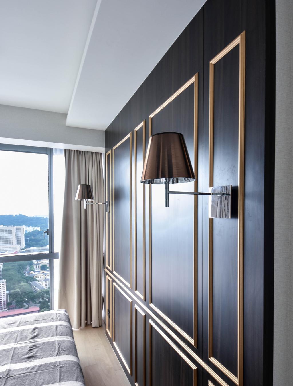 Modern, Condo, Bedroom, Echelon, Interior Designer, DISTINCTidENTITY