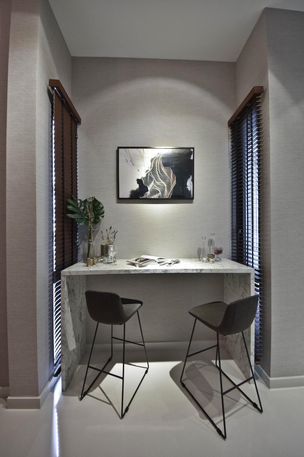 Scandinavian, Condo, Dining Room, The Cristallo, Interior Designer, DISTINCTidENTITY, Modern