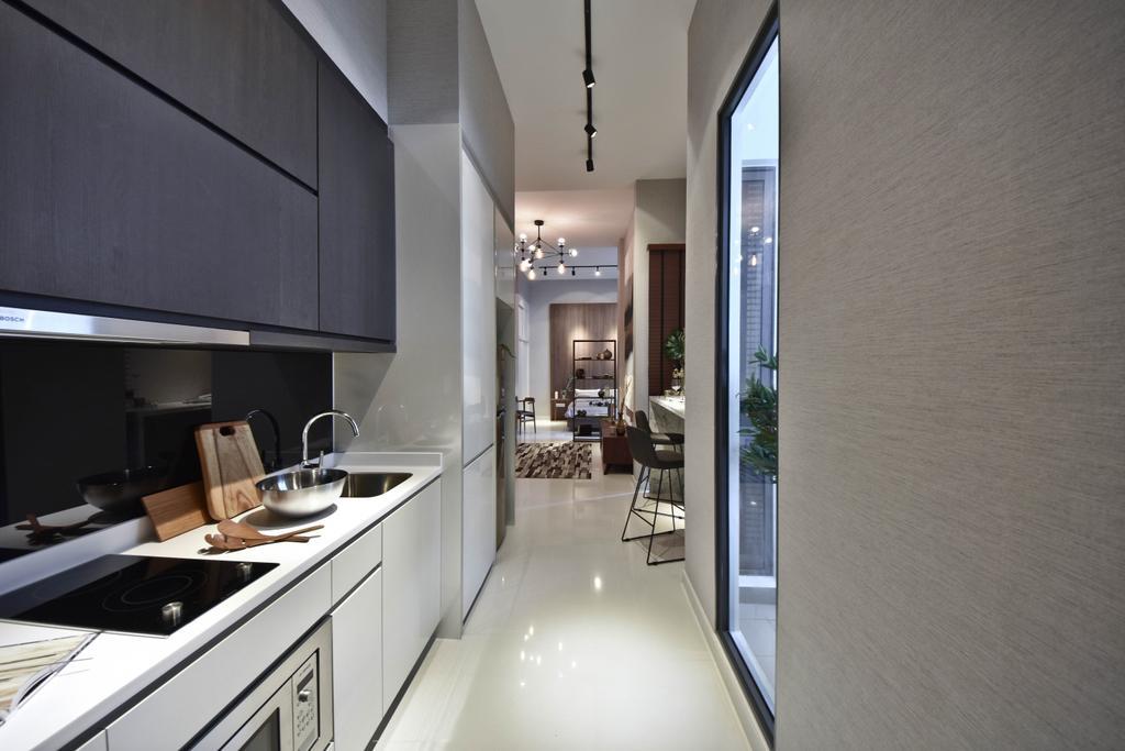 Scandinavian, Condo, Kitchen, The Cristallo, Interior Designer, DISTINCTidENTITY, Modern