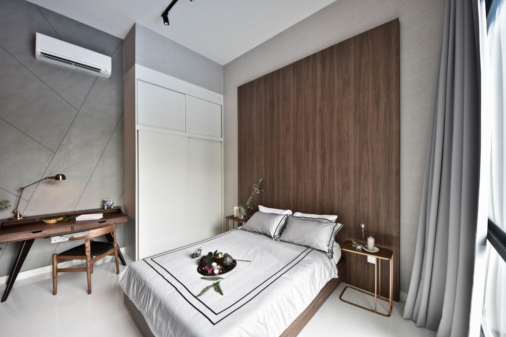 Scandinavian, Condo, Bedroom, The Cristallo, Interior Designer, DISTINCTidENTITY, Modern