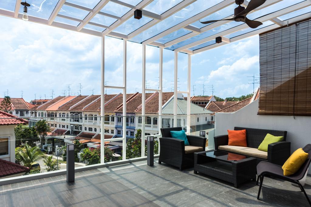 Modern, Landed, Balcony, Loyang Rise, Interior Designer, DISTINCTidENTITY, Traditional