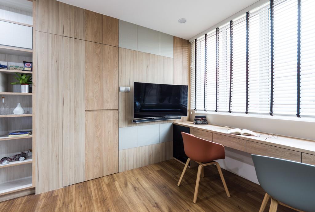Modern, Landed, Study, Loyang Rise, Interior Designer, DISTINCTidENTITY, Traditional