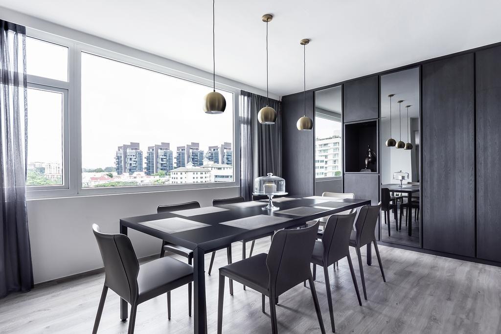 Modern, Condo, Dining Room, Holland Park, Interior Designer, DISTINCTidENTITY, Contemporary
