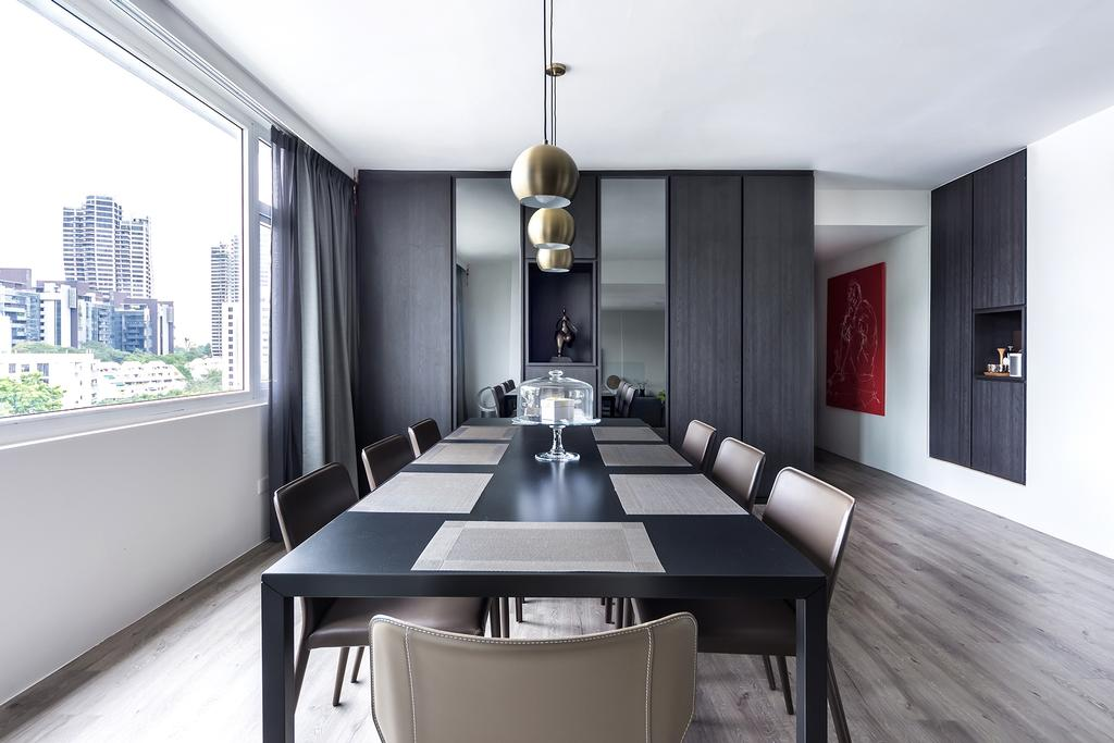 Modern, Condo, Dining Room, Holland Park, Interior Designer, DISTINCTidENTITY, Contemporary