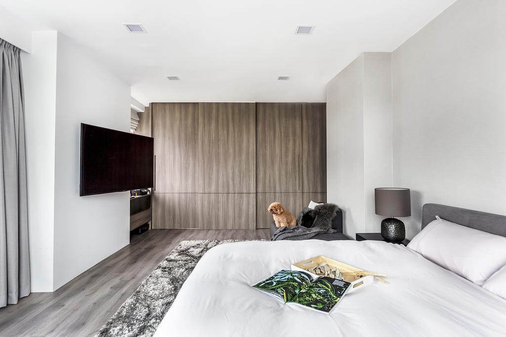 Modern, Condo, Bedroom, Holland Park, Interior Designer, DISTINCTidENTITY, Contemporary