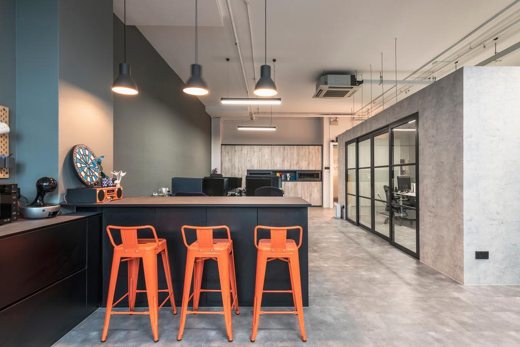 Midview City, Commercial, Interior Designer, Omni Design, Scandinavian, Industrial