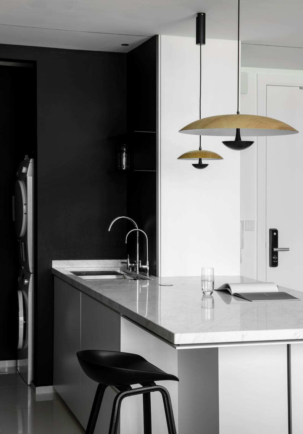 Contemporary, Condo, Dining Room, The Robertson Soho, KL, Interior Designer, PINS Studio