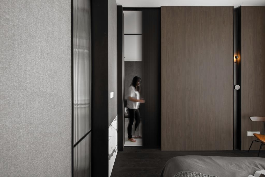 Contemporary, Condo, The Robertson Soho, KL, Interior Designer, PINS Studio