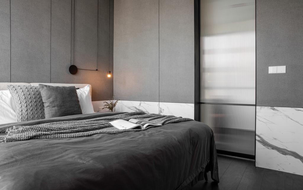 Contemporary, Condo, Bedroom, The Robertson Soho, KL, Interior Designer, PINS Studio