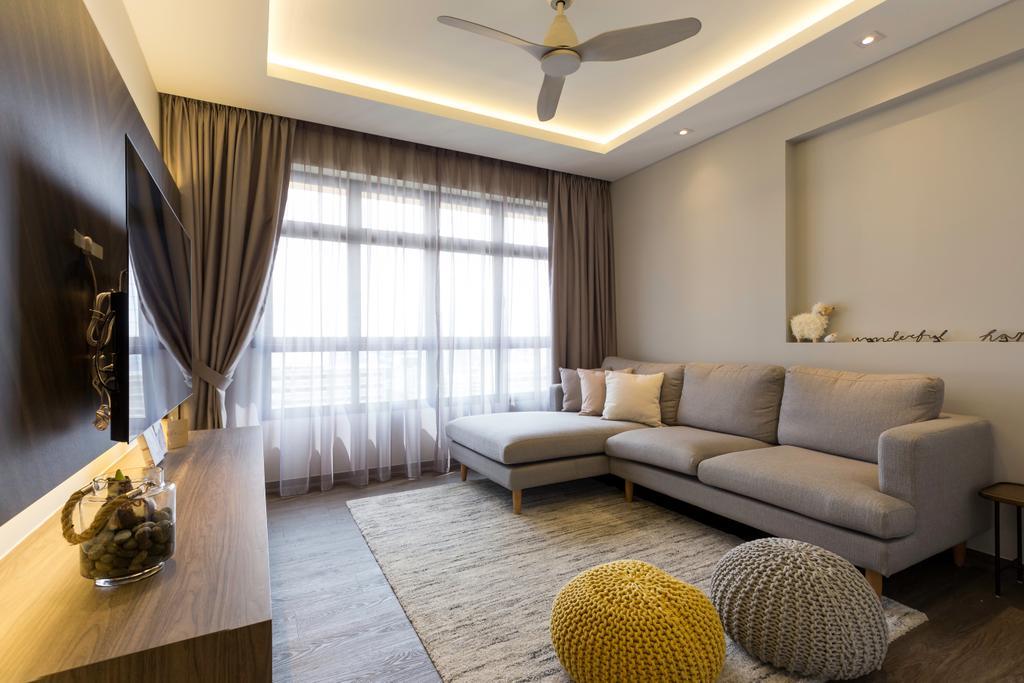 Modern, HDB, Living Room, Toa Payoh East, Interior Designer, The Interior Place, Scandinavian