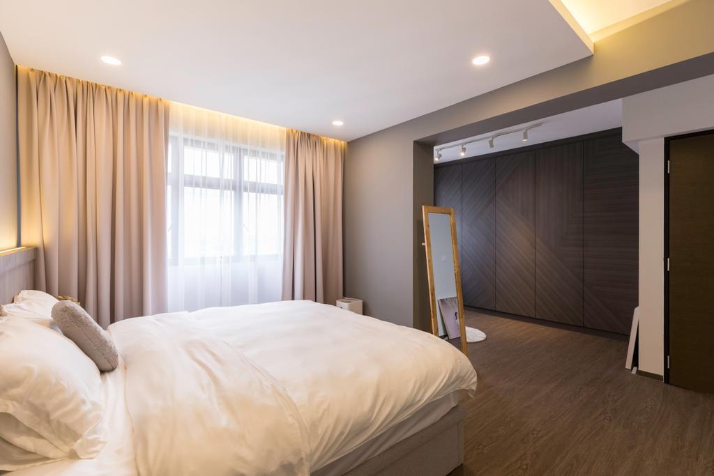 Modern, HDB, Bedroom, Toa Payoh East, Interior Designer, The Interior Place, Scandinavian