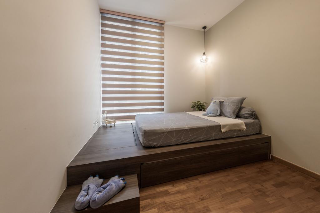 Modern, Condo, Bedroom, Treasure Crest, Interior Designer, Ciseern