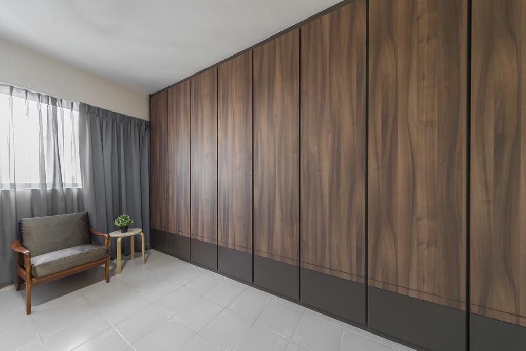 Modern, HDB, Bedroom, Jurong East Street 21, Interior Designer, Ciseern, Scandinavian