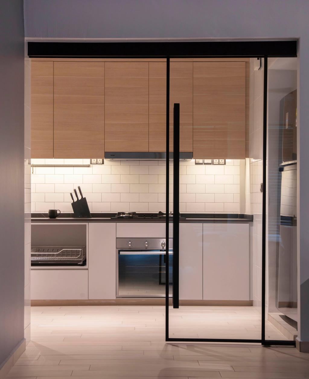 Modern, HDB, Kitchen, Sumang Link (Block 313C), Interior Designer, KDOT, Scandinavian
