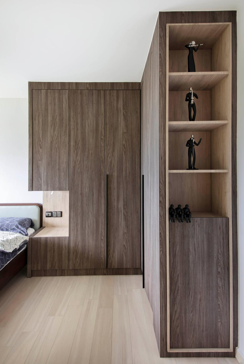 Modern, HDB, Bedroom, Sumang Link (Block 313C), Interior Designer, KDOT, Scandinavian