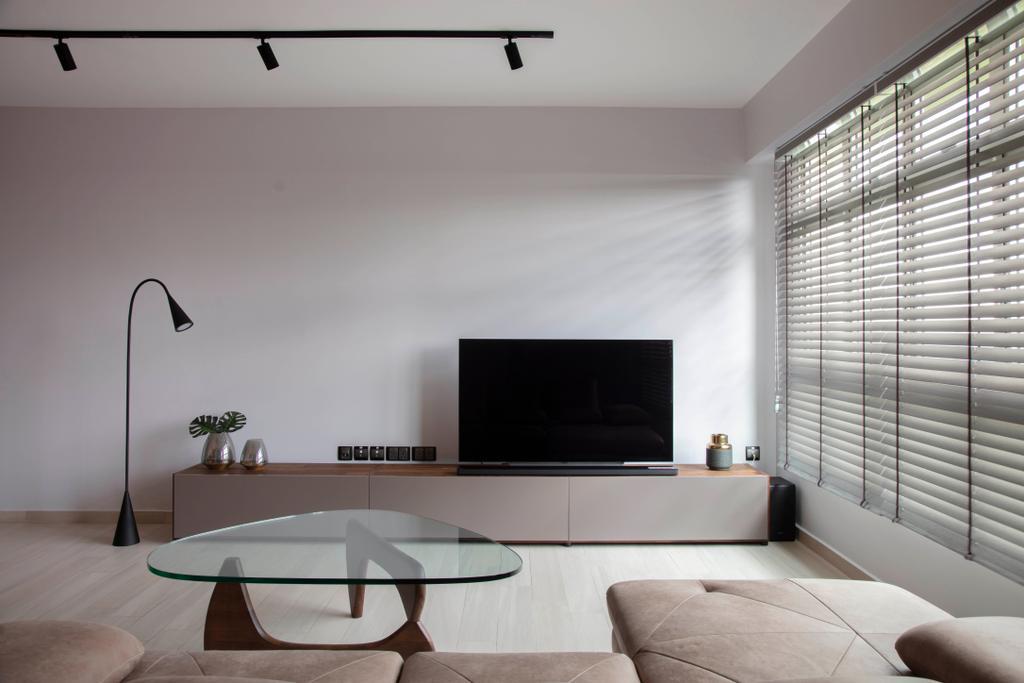 Modern, HDB, Living Room, Sumang Link (Block 313C), Interior Designer, KDOT, Scandinavian