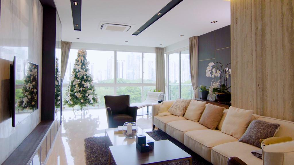 Modern, Condo, Living Room, Scotts Highpark, Interior Designer, Posh Home, Contemporary