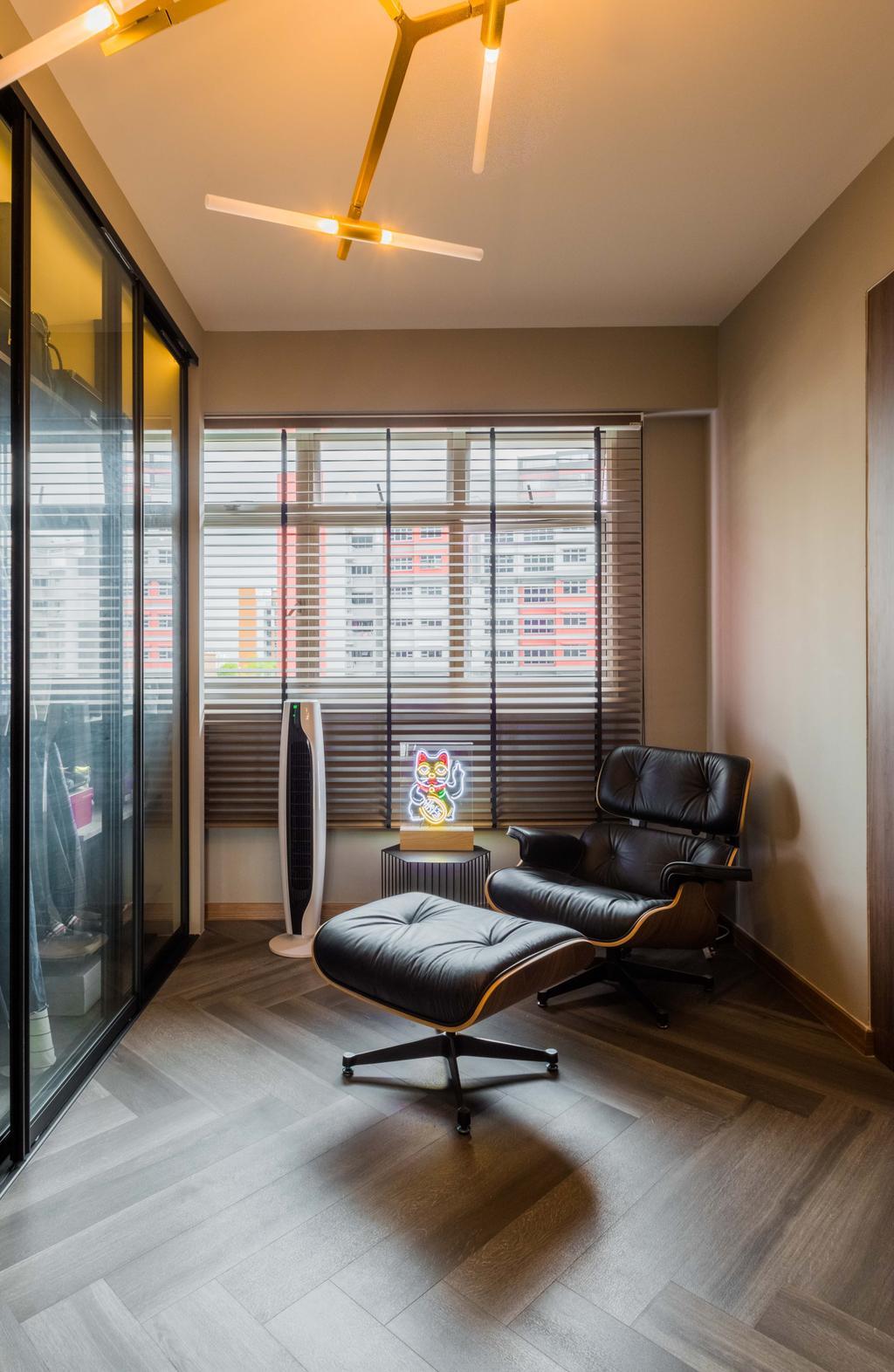 Modern, HDB, Bedroom, Bukit Batok West Avenue, Interior Designer, Space Atelier, Contemporary