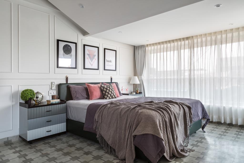 Modern, Condo, Bedroom, Scotts Road, Interior Designer, Livspace