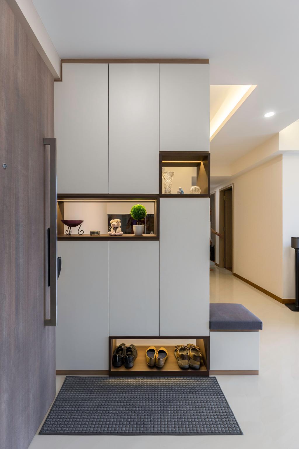 Modern, Condo, Treasure Crest (Block 56), Interior Designer, Charlotte's Carpentry, Scandinavian