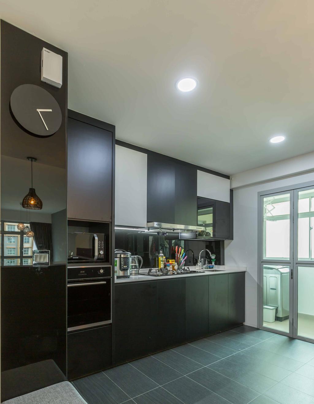 Modern, HDB, Kitchen, Sumang Lane (Block 226A), Interior Designer, Imposed Design