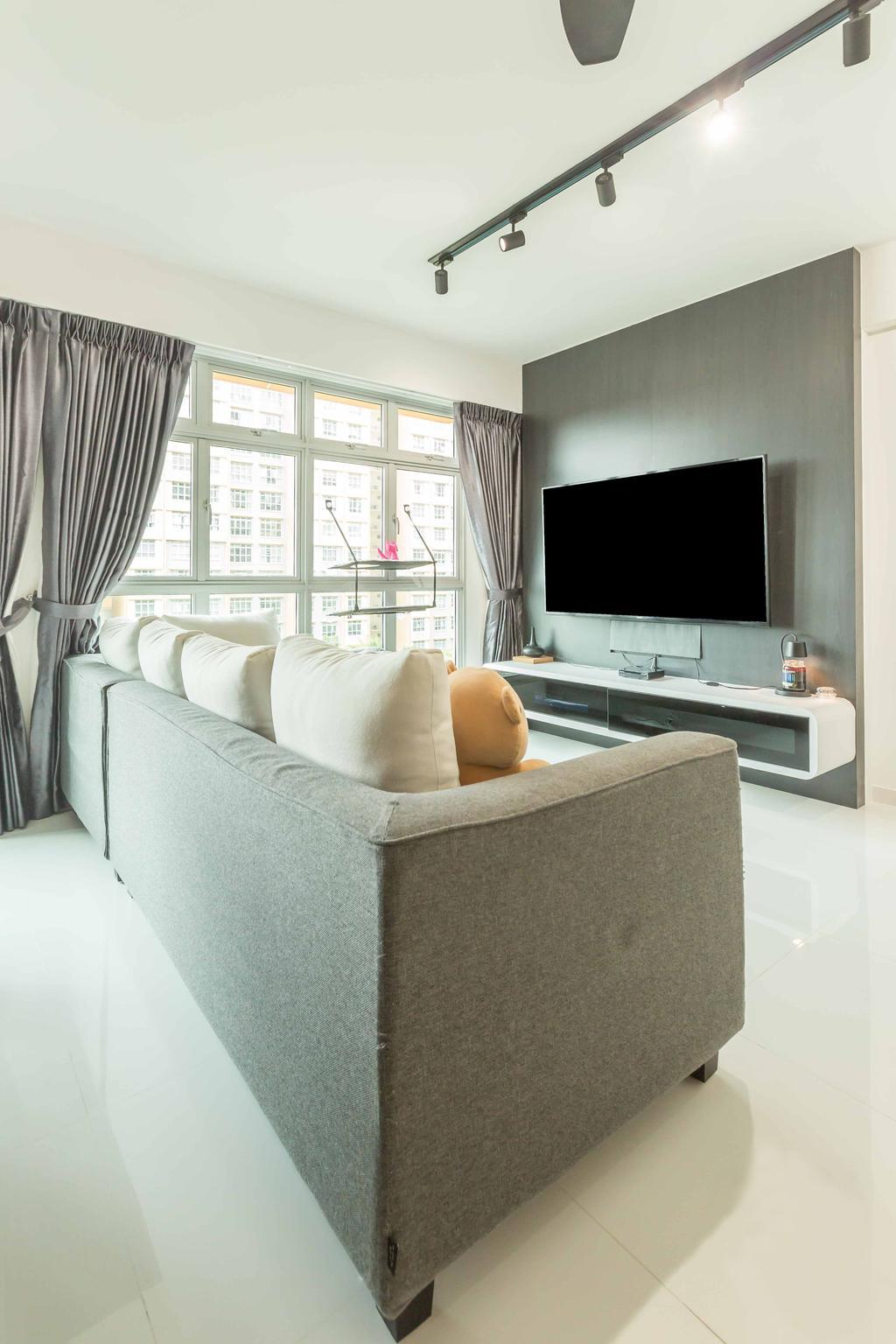 Modern, HDB, Living Room, Sumang Lane (Block 226A), Interior Designer, Imposed Design