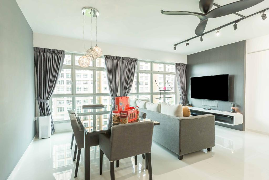 Modern, HDB, Living Room, Sumang Lane (Block 226A), Interior Designer, Imposed Design