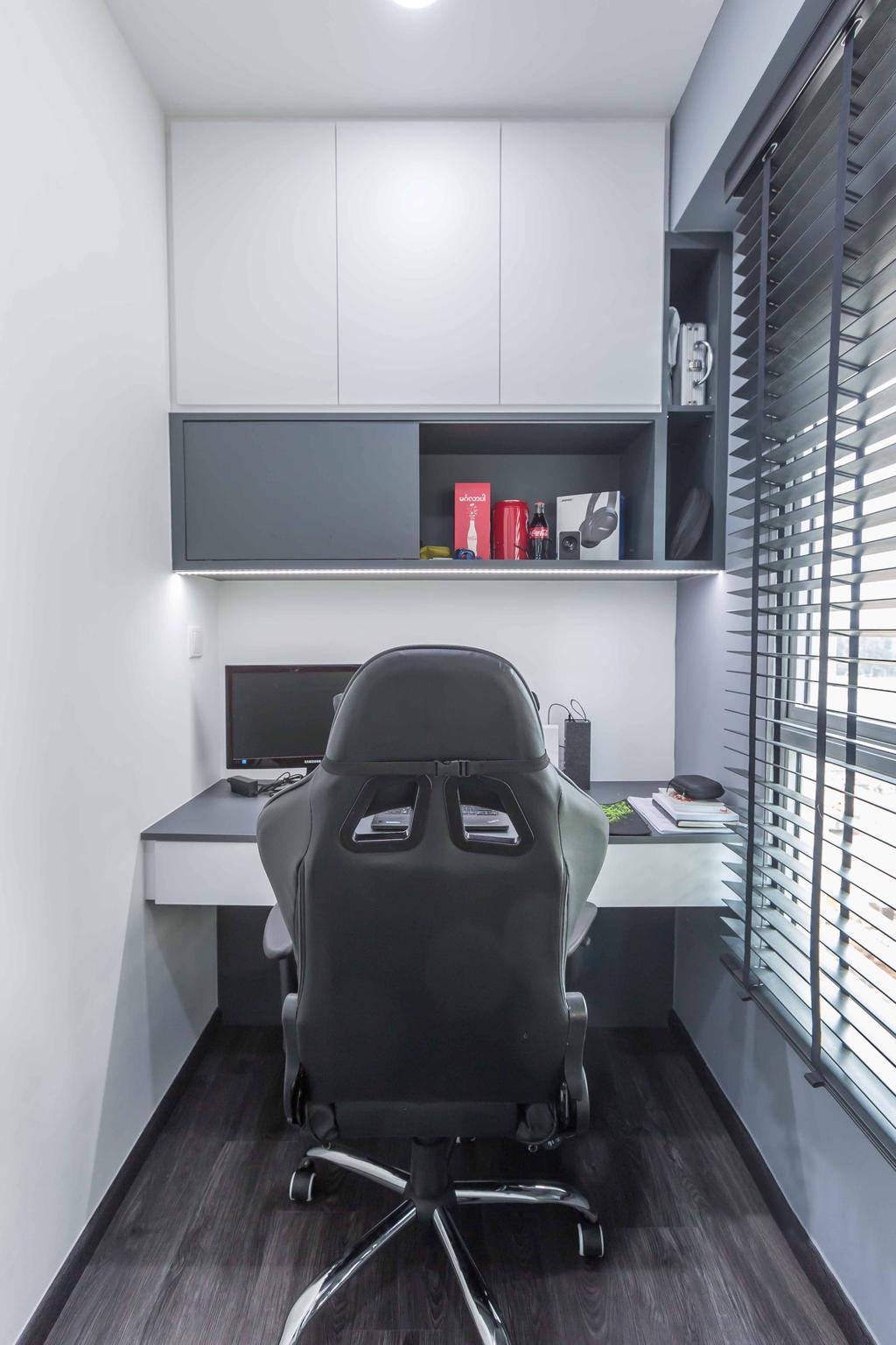 Modern, HDB, Study, Sumang Lane (Block 226A), Interior Designer, Imposed Design