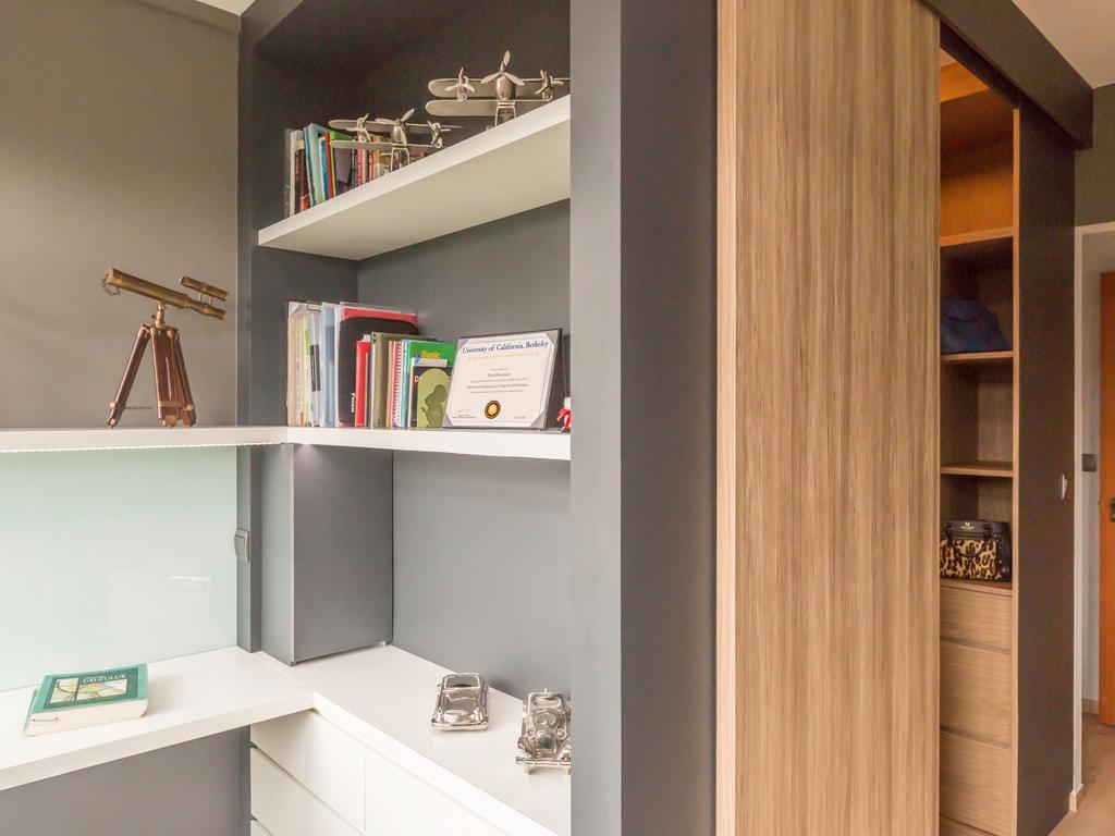 Contemporary, HDB, Study, Ghim Moh (Block 22), Interior Designer, Imposed Design