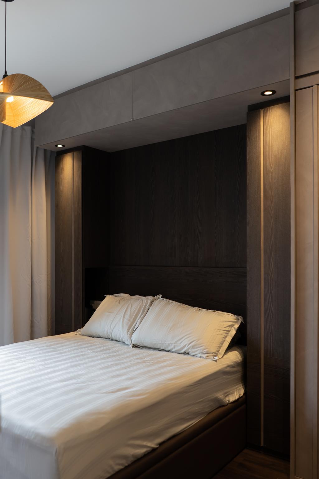 Modern, Condo, Bedroom, Lakeside Drive, Interior Designer, Authors • Interior & Styling, Contemporary